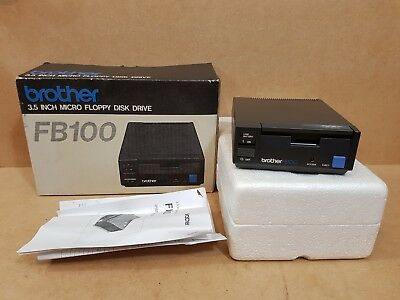 "BROTHER FB100 3.5"" MICRO FLOPPY DISC DRIVE for BROTHER KNITTING MACHINE BOXED"