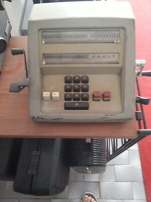 Old Calcuator Facit Antica Calcolatrice Vintage