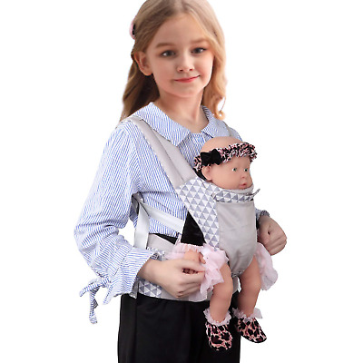 Vollence Baby Doll Carrier,Baby Doll Sling,Baby Doll Front and Back Backpack for