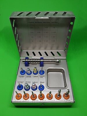 Dental Implant Surgical Drill Kit Dental Implant Tools with Ratchet High Quality