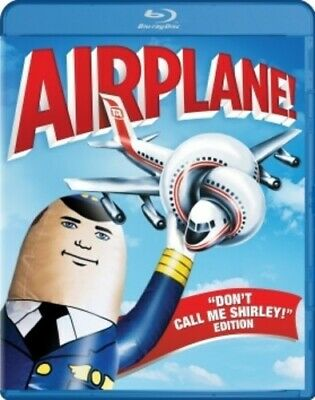 Airplane (1980 Leslie Nielsen) (Flying High) (Don't Call Me Shirley) BLU-RAY NEW