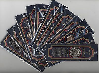 Coins Of Yesteryear Bookmarks   Pennies2Pounds