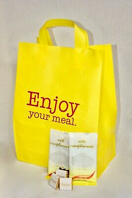 Food Delivery Carrier Bags for Restaurants and Takeaways