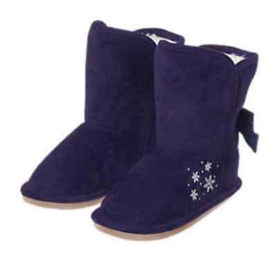 *NWT* GYMBOREE GIRLS 10 ICE DANCER FAIR ISLE FAUX SUEDE GRAY BOOTS SHOES