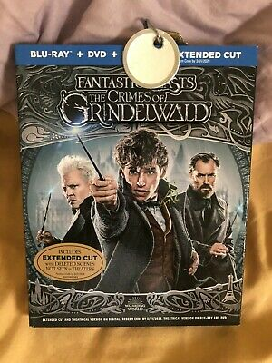fantastic Beasts: The Crimes of Grindelwald (Blu-ray+ dvd, 2019) no digital copy