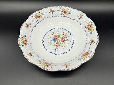 "Royal Albert Petit Point 9.5"" Around Vegetable Bowl England Bone China"