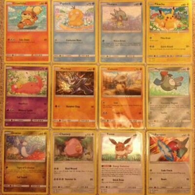 McDonald/'s 2017 Happy Meal Pokemon Cards Selection Pick card from list!