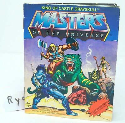 MOTU, King of Castle Grayskull, Mini Comic Book, Masters of the Universe