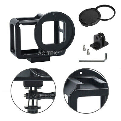 Protective case aluminium skeleton housing for Gopro 5/6/7 Black 52mm Uv filter