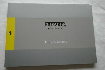 Ferrari POWER Warranty Service Manual - California, 599, 612 etc - 3682/10