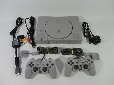 Sony Audophile PlayStation 1 Console Controllers Bundle - SCPH-1002 PAL PS1