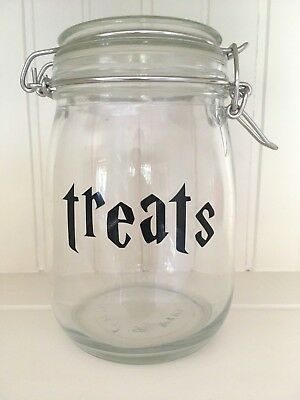 VINYL DECAL STICKER DIY MUG GLASS BISCUIT JAR HARRY POTTER