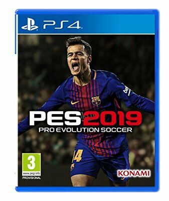 PES 2019 FULLY Licensed Option File PS4 Pro Evolution Soccer 2019 +