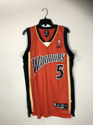 20cb426da9f BARON DAVIS Golden State Warriors Vintage Reebok Swingman NBA Jersey Mens M