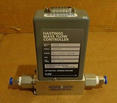 Hastings HFM-229 Mass Flowmeter