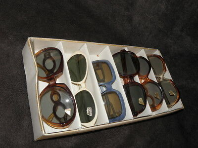 VINTAGE SUNGLASSES LOTS Glamour Fancy Funny 60s-70s  LUNETTE SOLEIL atomic age