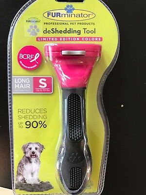 "~NEW~ ORIGINAL FURminator deShedding Tool for small dog..1.75"" EDGE LONG HAIR"