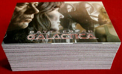BATTLESTAR GALACTICA - Season 3 - Complete Base Set (63 Cards) Rittenhouse 2008