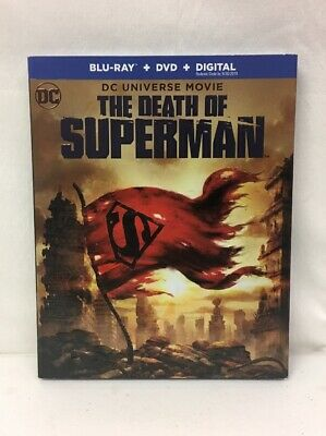 The Death of Superman Blu-ray + DVD + Digital
