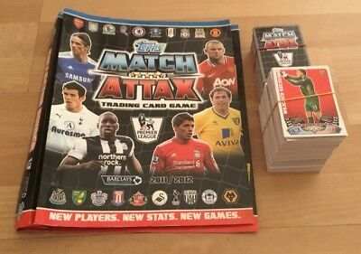 Topps Match Attax 2011/12 Player Cards - Finish your collection - No's 1-250