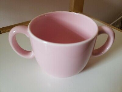 TIFFANY & CO. Tiffany Tots 2 Handled Mug Cup Pink Replacement