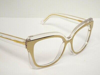 36c05ae3853c Authentic Tory Burch TY9046 16025A Clear & Gold Sunglasses Frame $270