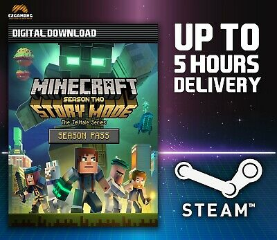 Minecraft: Story Mode - Adventure Pass [PC/MAC] (2016) STEAM DOWNLOAD KEY 🎮🔑