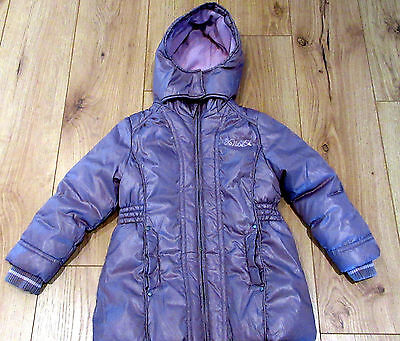 jacket Girls NEXT 5 - 6 years QUILTED  PUFFA COAT SCHOOL GIFT WARM WATERPROOF