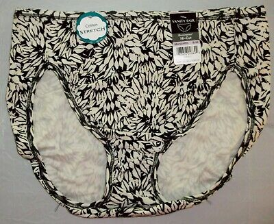 NWT Vanity Fair Illumination 13315 Hi-Cut panty panties Cotton Stretch 6 7 8 9