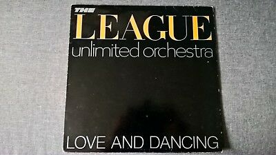 The Human League / The League Unlimited Orchestra - Love And Dance .     Lp.