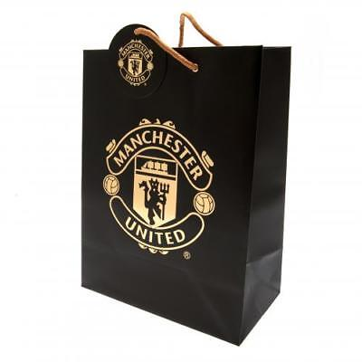 Manchester United Fc Crest Gift Bag - Official Gift