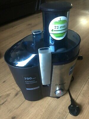 Bosch MES3500GB Juicer Stainless Steel Juice Fruit Weight Loss Health Diet Food