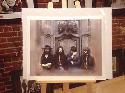 "The Beatles Artist Proof Limited Edition 22x18"" Signed Numbered  DISCONTENT II"