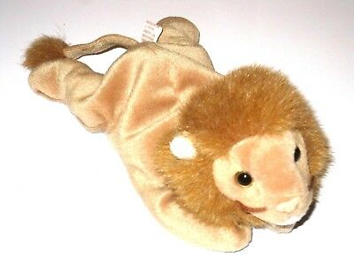 2191ee9e077 TY BEANIE BABY Original - ROARY (the Lion) (RETIRED) w  TAG -  12.00 ...