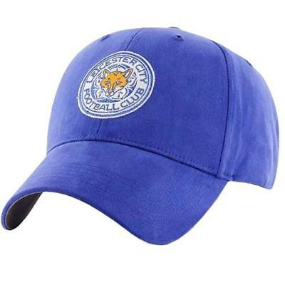 Leicester City FC Adult Baseball Cap Royal - Official Men's Gift