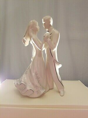 Lenox Wedding Promises First Dance Bride and Groom Fine China Cake Topper