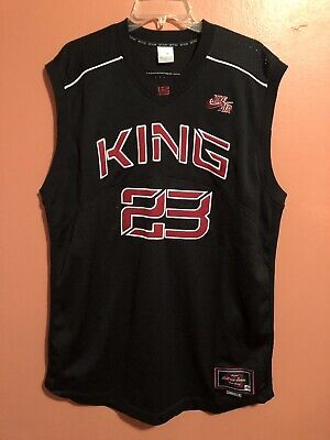 super popular 5a42a b3194 NIKE ORIGINAL LEBRON James KING Team Jersey NBA 23 Large ...