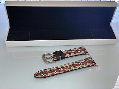 New Designer Apple watch band GG iwatch strap for series 1/2/3/4/5 Kingsnake