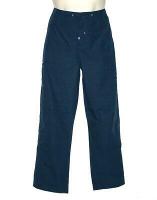Ralph Lauren Active Womens Pants Navy Drawstring Cargo Cropped Size 12 NWT $89