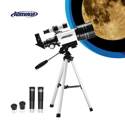 30070 Refractor Telescope For Beginners With Tripod Optical Lens Travel Scope