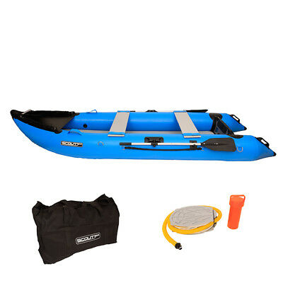 NEW Scout365 Inflatable Boat - Kayak, Fishing, Boat