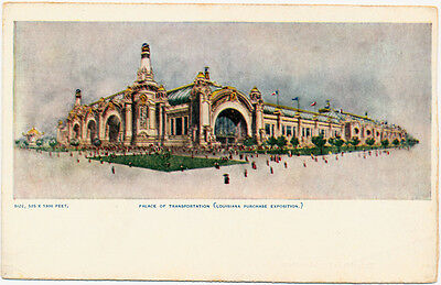 1904 St. Louis Louisiana Purchase Exposition Palace of Transportation – udb