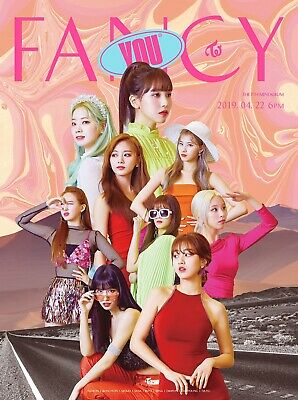 TWICE - FANCY YOU CD+5Photocards+Pre-Order Benefit+Poster+Free Gift+Tracking no.