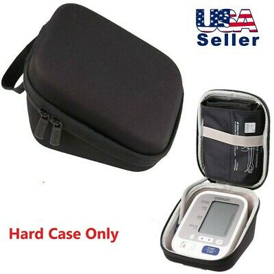 Hard Case for Omron 5 Series Upper Arm Blood Pressure Monitor Cuff Carrying Bag