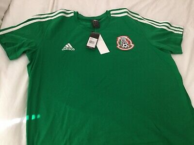 2605cd56301 Adidas Mexico National Team Soccer LARGE BRAND NEW t-shirt Football  Ultimate Tee