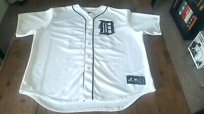 b63a02707a2 Authentic Majestic Miguel Cabrera Detroit Tigers Home Jersey White Size XXL