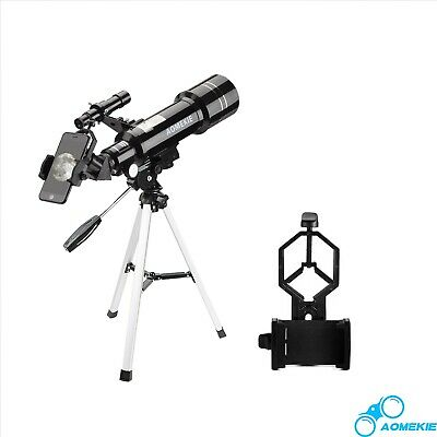 AOMEKIE 40070 Astronomical Telescope Refractor Spotting Scope with Phone Adapter