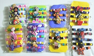Boys Toddler Bracelet 3 pack Christmas Gift you pick Fits 3T 4T 5T Stretchy  NEW