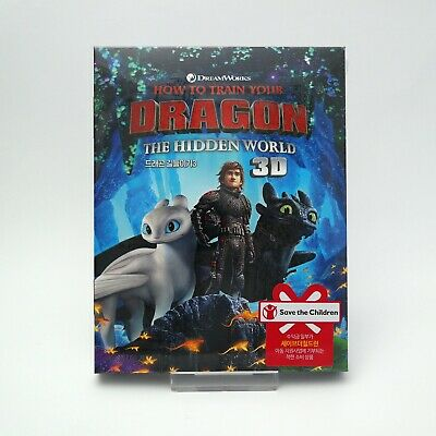 How To Train Your Dragon: The Hidden World - Blu-ray 2D & 3D Slip Case Edition