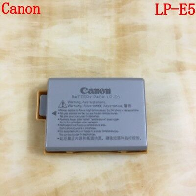 Genuine Canon LP-E5 Battery Original EOS 450D 500D 1000D Rebel XS XSi F X3 X2 T1